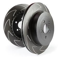 EBC Sportbremsscheiben Turbo Groove Black Vorderachse GD899 für Opel Astra G