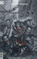 BATMAN WHO LAUGHS #1 PARRILLO B&W VARIANT DC COMICS JOKER ROBIN