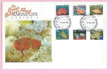 AUSTRALIA Large 1984 FDC - Great Barrier Reef MARINE LIFE - Shs Melbourne Bureau