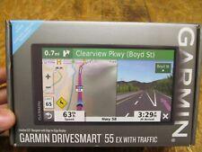 "Garmin DriveSmart 55 EX with Traffic GPS Navigator 5.5"" ( LOT 14583)"