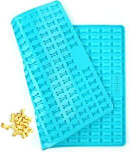 Collory mini Knochen (2cm) Silikon Backmatte, Backform mini Hundekekse Leckerlis