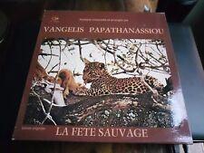 33 TOURS / LP--BOF/OST--LA FETE SAUVAGE--VANGELIS & PAPATHANASSIOU--1978