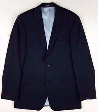 HUGO Boss BLACK Blazer PINSTRIPE Size 42L Mens TWO Button LINED Super 120S Wool*