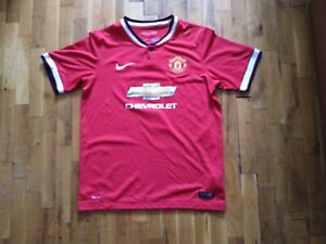 Manchester United Home football shirt 2014 - 2015 Nike #7 Di Maria size XL youth