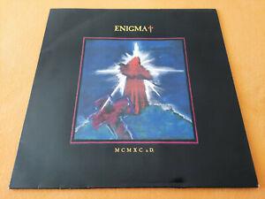 Enigma MCMXC a.D. LP 1990 Virgin 211 209 Merchandising Card OIS