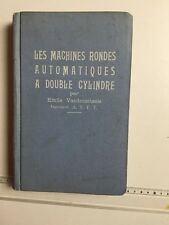 MACHINES RONDES AUTOMATIQUES A DOUBLE CYLINDRE