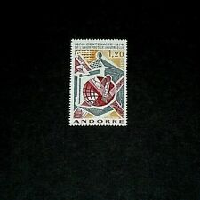 ANDORRA, #235, 1974, UNIVERSAL POSTAL UNION, SINGLE, MNH, LQQK
