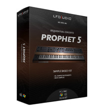 SEQUENTIAL CIRCUITS PROPHET 5 VST Plug-in AU for OSX MAC samples sounds vintage