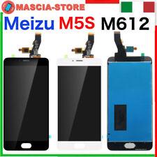 "TOUCH SCREEN VETRO LCD DISPLAY ASSEMBLATO Per MEIZU M5S M612H  5,2"" MEILAN"