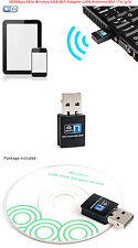 300Mbps Mini Wireless USB Wifi Adapter LAN Antenna Network Adapter 802.11n/g/b S