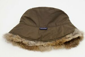 Woolrich john rich & brosBucket Hat Fur Warm Winter Casual S ZMA416