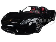 2013 PORSCHE 918 SPYDER BLACK LTD 504PC 1/18 DIECAST BY MINICHAMPS 110062431
