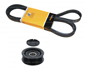 Serpentine Drive Belt Kit with Idler Pulley CONTI / INA OEM for Mercedes Benz