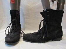 AllSaints Women's Zip Suede Boots for Men