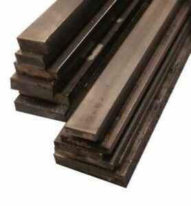 Metal Flat Bar Bright Mild Steel 10, 12, 16, 20, 25mm Wide 3, 5, 6, 10mm Thick