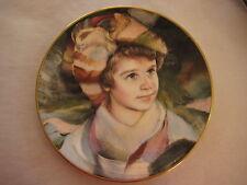 "Royal Doulton Plate ""Adrien"", Original Art By Francisco Masseria, 8 1/4"" Dia"