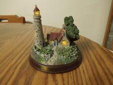 Thomas Kinkade The Light of Peace lighted lighthouse