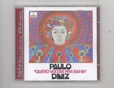 (CD) Quero Voltar Pra Bahia [Brazil Import] /Paulo Diniz/Latin Funk; Psychedelic