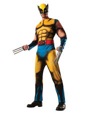 "Wolverine Dlx Mens Costume, Standard, CHEST 44"", WAIST 30 - 34"", INSEAM 33"""