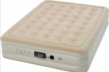 Serta 18in Double High Queen Inflatable Mattress-NEW