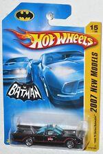 Hot Wheels 2007 New Models #15 1966 TV Series Batman Batmobile MOC VHTF 5spkW