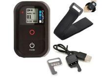 Original GoPro WiFi Remote Fernbedienung mit Ladekabel und Klettband