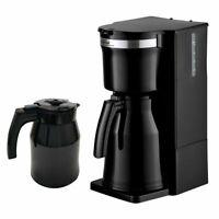 Elta Kaffeemaschine Duo-Therme mit 2 Thermoskannen 800 W Schwarz