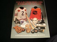 COLLECTION ESSO DES ETOILES LNH °UNDATED<>53 STAR PLAYERS ° FRENCH MAG.