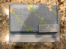 New Hallmark Checkbook Cover Protected by Scotchgard Fabric Protector - Blue