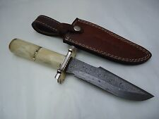 """Pioneer Damascus Steel Hunting Knive,With Steel 11""""Pt-651"""