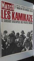 REVUE PARIS MATCH N° 854 AOUT 1965 LES KAMIKAZE SURSAUT DESPERE PILOTES SUICIDE