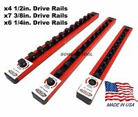 Mechanics Time Saver Lock a Socket Rails for Craftsman 311 334pc Tool Sets USA