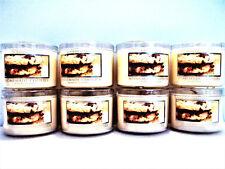 Bath Body Works Slatkin HOMEMADE COOKIES Candles, Mini, 1.6 oz., NEW x 8