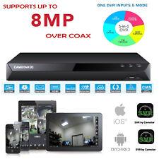 8MP 5MP TVI, 8CH 5 - 1 CCTV DVR, 4CH Audio, Support AHD/TVI/CVI/CVBS/IP Cameras