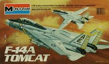 Monogram 1:48 F-14 A TomCat Plastic Aircraft Model Kit #5803UX