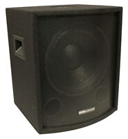 "NEW 12"" SubWoofer Speaker.Pro Audio.DJ.PA.Woofer w/ Cabinet.BASS Sub w/ box.8ohm"