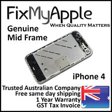 iPhone 4S OEM Mid Middle Frame Bezel Metal Chassis Housing Silver Replacement