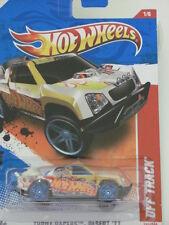 Hot Wheels 2011 Off Track Thrill Racers Desert White