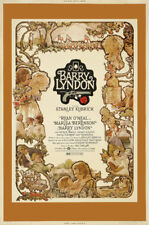 Stanley Kubrick Barry Lyndon Ryan O'Neal movie poster print 6