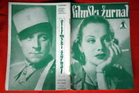 JUNE TRAVIS ON COVER JEAN GABIN 1939 OLD EXYU MAGAZINE