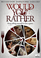 Would You Rather (DVD, 2013)