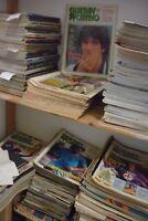 Lotto circa 250 riviste Guerin Sportivo dagli anni 80-90-2000 lot stock magazine