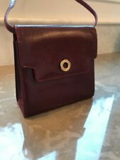 Bally Embossed Leather Evening Bag Purse