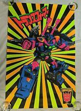 "Transformers 2010 BotCon 33x22"" CLENCH Blacklight Reactive Poster Print LADV10"