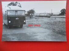 PHOTO  LMS VAN (MOG 7) AND 3 CAR DMU