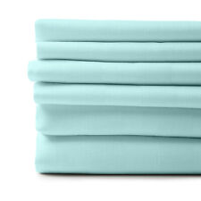 1800 Count 6 Piece Egyptian Cotton Feel Soft Sheets Deep Pockets 4 Pillowcases