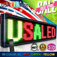 Digital LED Sign 3 Color Moving Message Display 31