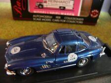 1/43 Bang 7099 Mercedes 300 SL Mille Migla 89 blaumetallic #224