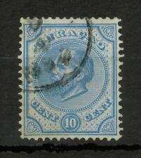 Curacao King Wilhelm III, 10c, ultramarine Stamp #4420