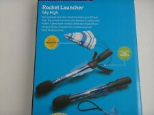 Discovery Rocket Launcher Sky High Set of 2 Rockets Built-in Parachute